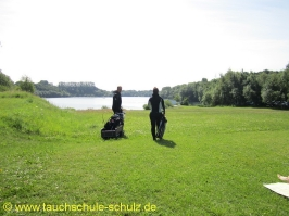 Fun Tauchen und SK Gruppenfuehrung und Orientieren unter Wasser 09.+10.07.11