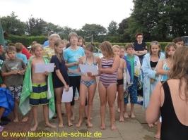 Geburtstags Schnuppertauchen 2012